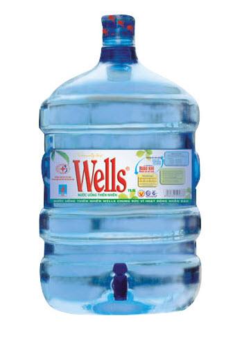 Nước tinh khiết Wells 19,5l